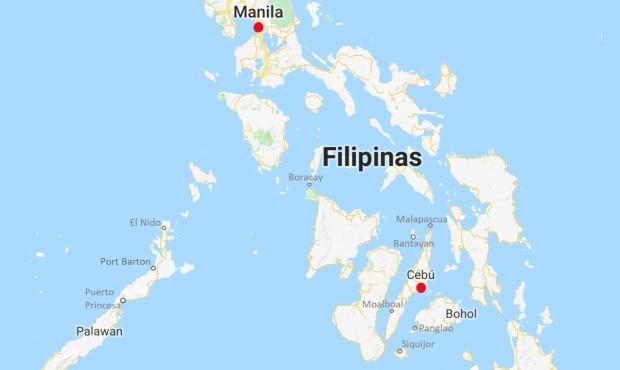 Manila y cebu